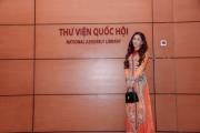 """Hoa hậu Qúy bà Thế giới Oanh Lê vinh dự nhận bằng khen """"Nữ doanh nhân văn hoá-Nữ tướng thời bình 2020"""""""