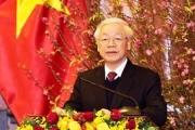 Hòa bình, hạnh phúc, ấm no - Rạng danh Tổ quốc, cơ đồ Việt Nam!