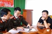 Quảng Bình: Triệu tập và xử phạt đối tượng lập nhóm zalo chỉ điểm các chốt công an làm việc
