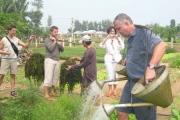 Một ngày làm nông dân Trà Quế