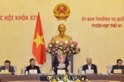 Ủy ban Thường vụ Quốc hội bế mạc phiên họp thứ 42