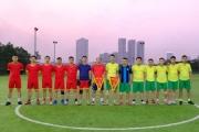 Giao hữu bóng đá: CA phường Kiến Hưng - CA phường Hà Cầu (quận Hà Đông)