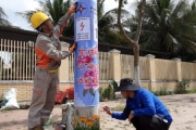 Hà Tĩnh: Độc đáo cách tuyên truyền tiết kiệm điện ở một huyện miền núi