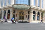 Hà Nội 'lệnh' tháo dỡ đài phun nước lấn chiếm vỉa hè của tòa nhà Doji Tower