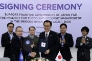 Nhật Bản viện trợ giúp quản lý lũ lụt và hạn hán sông Mekong
