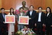 Vợ chồng đại gia Lê Văn Kiểm ủng hộ 20 tỷ đồng phòng chống dịch Covid-19 và hạn mặn