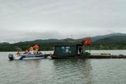 Quảng Bình: Lực lượng chức năng ra quân xử phạt cát tặc trên sông gần 40 triệu đồng