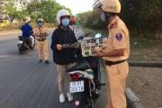 Cảnh sát giao thông triển khai biện pháp cấp bách giữa dịch Covid-19