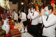 Hôm nay mồng 10/3 âm lịch, Lễ Giỗ Tổ Hùng Vương diễn ra tại Đền Hùng