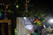 Hà Nội kè thí điểm 40m hồ Gươm bằng khối bê tông cốt sợi đúc sẵn