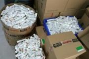 Thu giữ hơn 18.000 sản phẩm nước rửa khô sai quy định tem nhãn tại Hà Đông
