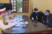 Thái Bình: Trạm CSGT Cầu Nghìn phát hiện 2 đối tượng tàng trữ chất ma túy