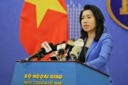 Trao công hàm phản đối vụ tàu hải cảnh Trung Quốc đâm chìm tàu cá Việt Nam