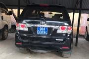 Bắc Giang: Nghi vấn Công an huyện Tân Yên sử dụng biển số xe không đúng quy định