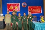 Ra mắt Ban liên lạc hội Cựu chiến binh quân khu  Trị thiên tại tỉnh Đăk Lăk