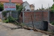Quảng Trạch - Quảng Bình: Phòng khám Bảo Hoàng ngang nhiên xây dựng trên đất lấn chiếm