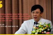 """Phó Chủ tịch Hội Nhà báo Việt Nam: """"Bảo vệ cái tốt, đấu tranh chống lại cái xấu chính là chuẩn mực"""""""