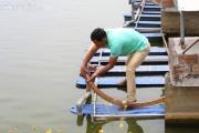 """Một nông dân Hà Nam thu lợi 1 tỷ đồng/năm nhờ áp dụng công nghệ """"sông trong ao"""""""