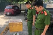 Bắt xe chở 110 kg gà thải từ các tỉnh phía Bắc về Hà Tĩnh tiêu thụ