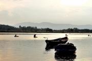 Mưu sinh trên dòng sông Thoa