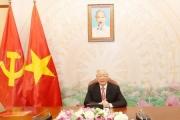 Tổng Bí thư, Chủ tịch nước Nguyễn Phú Trọng điện đàm với Chủ tịch CPP, Thủ tướng Campuchia Hun Sen