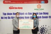Tập đoàn Hưng Thịnh chung tay cùng tỉnh Quảng Nam, Đà Nẵng đẩy lùi dịch Covid-19
