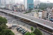 Cầu vượt Nguyễn Văn Huyên - Hoàng Quốc Việt chính thức thông xe