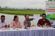 """Hà Nội: Tọa đàm """"Phát triển mô hình nuôi cá – lúa đạt hiệu quả cao và bền vững"""""""