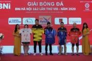 Lễ ra mắt và bốc thăm chia bảng Giải bóng BNI Hà Nội 1&2 lần thứ 8 năm 2020