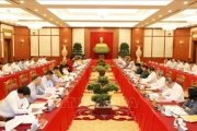 Bộ Chính trị cho ý kiến chuẩn bị đại hội 20 Đảng bộ trực thuộc Trung ương