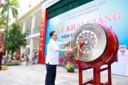 Bí thư Thành ủy Hà Nội Vương Đình Huệ dự khai giảng năm học mới