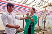 Nữ thạc sĩ mang tảo xoắn từ Pháp về khởi nghiệp