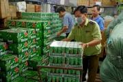 Tiêu huỷ 330 thùng bia Heineken nhập lậu không đủ tiêu chuẩn