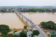 Hà Tĩnh: Khánh thành cầu Thọ Tường bắc qua sông La
