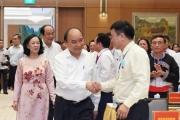 Thủ tướng Nguyễn Xuân Phúc: Dân vận là phải xắn tay áo lo việc cho dân