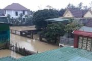 Nam Đàn đối diện với trận lũ lụt lịch sử