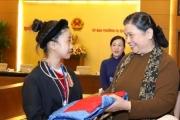 Phó Chủ tịch Thường trực Quốc hội gặp mặt Đoàn học sinh mồ côi, khuyết tật
