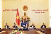 Bế mạc Phiên họp thứ 49 của Ủy ban Thường vụ Quốc hội khóa XIV