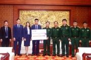 Ngân hàng Thương mại Cổ phần Quân đội trao 650 triệu đồng hỗ trợ gia đình các liệt sĩ hi sinh tại Thủy điện Rào Trăng 3