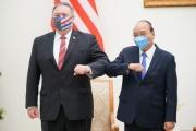 Thủ tướng tiếp Ngoại trưởng Hoa Kỳ Michael Pompeo