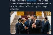 Mỹ viện trợ thêm 2 triệu USD giúp Việt Nam khắc phục hậu quả bão lũ