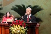Tổng Bí thư, Chủ tịch nước Nguyễn Phú Trọng: Hà Nội chưa khi nào có được quy mô, vị thế, tầm vóc, cơ hội phát triển như bây giờ