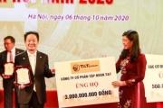 'Bầu Hiển' ủng hộ 5 tỷ đồng cho quỹ Vì người nghèo TP. Hà Nội