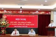 Toạ đàm kỷ niệm 16 năm ngày Doanh nhân Việt Nam tại Đảng ủy Khối Doanh nghiệp quận Đống Đa.