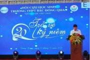 Xúc động 20 năm ngày trở về… Cựu học sinh Trường THPT Bắc Đông Quan Thái Bình