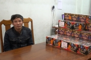 Quảng Bình: Đang buôn bán 62kg pháo trái phép bị Công an bắt quả tang