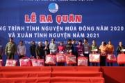 Trung ương Hội LHTN Việt Nam trao kinh phí hỗ trợ 6 tỉnh miền Trung bị thiệt hại trong đợt mưa lũ