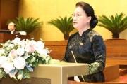 Chủ tịch Quốc hội: Các đại biểu đã phát huy cao độ trí tuệ, tâm huyết