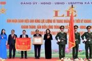 Phó Chủ tịch nước trao danh hiệu Anh hùng lực lượng vũ trang cho xã Ninh Hiệp, Hà Nội