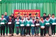 Nhiều tổ chức hỗ trợ các trường học ở huyện miền núi Hà Tĩnh